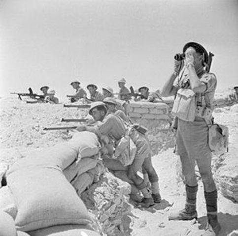 Batalla en El Alamein