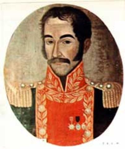 Bolivar es proclamado dictador