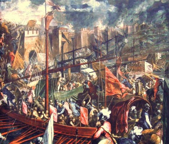 Fourth Crusade Begins