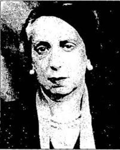 Pionera de la Psicologia en Colombia Mercedes Rodrigo (1891-1982)