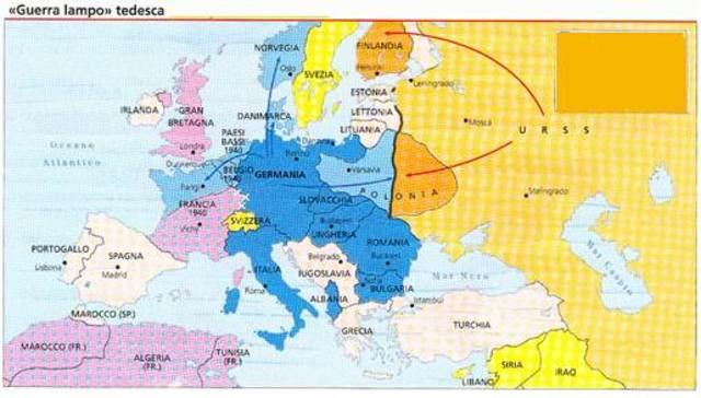 Cartina Geografica Prima Guerra Mondiale.Seconda Guerra Mondiale Timeline Timetoast Timelines