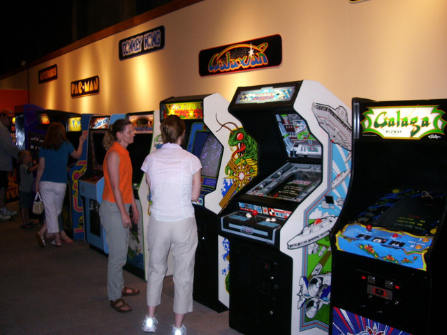 The Popularity of Arcades
