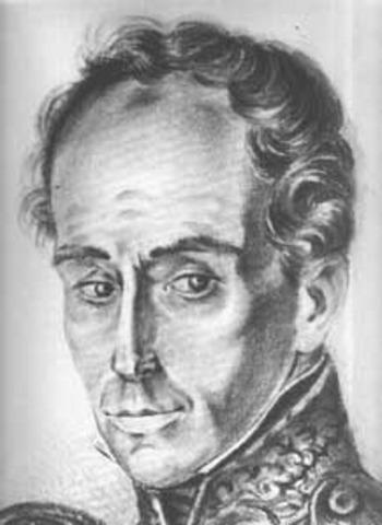 Simon Bolívar Renuncia