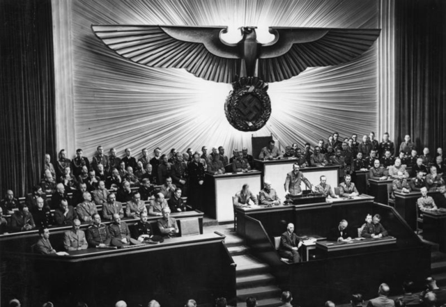 Nazi Germany aNazi germany and its Axis partners declare war on the United States