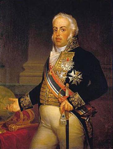 D. João VI assinou decreto para criar as cadeiras de Inglês e Francês