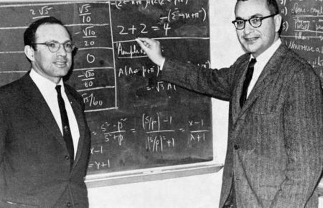 Murray Cell-Mann + George Zweig