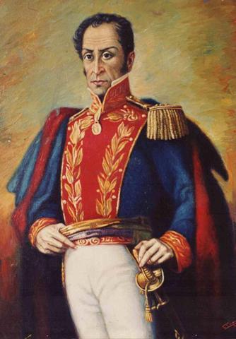 Bolívar lanza el Manifiesto de Cartagena.