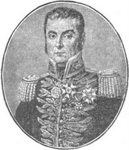 Pedro Labatut denrota a los realistas y ocupa a Santa Marta.