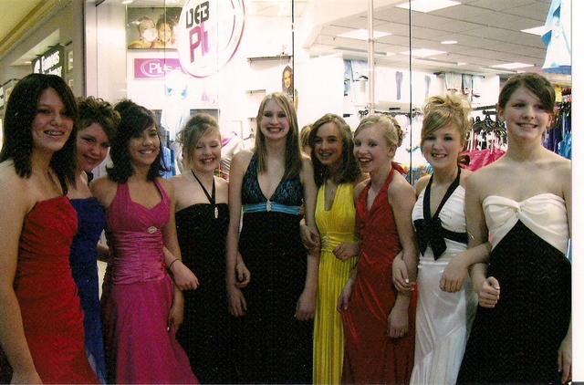 DEB fashion show!