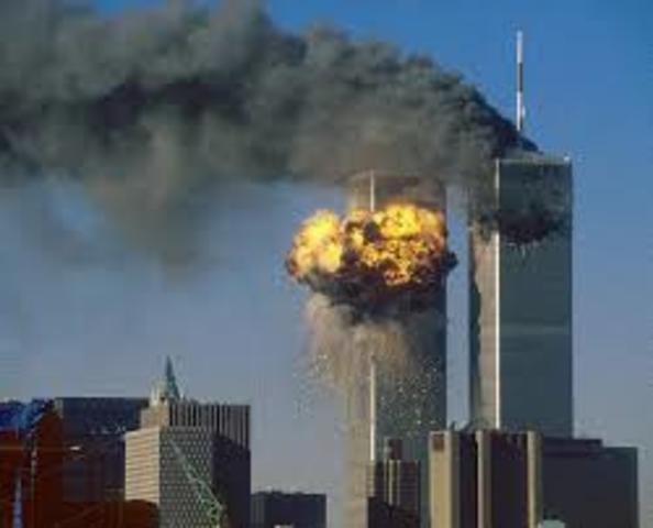 Atentado terrorista contra las torres gemelas