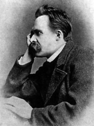 Ocurre la muerte de Friedrich W. Nietzsche