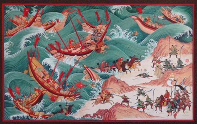 Bunei War - The Mongol's First Attempt To Invade Japan