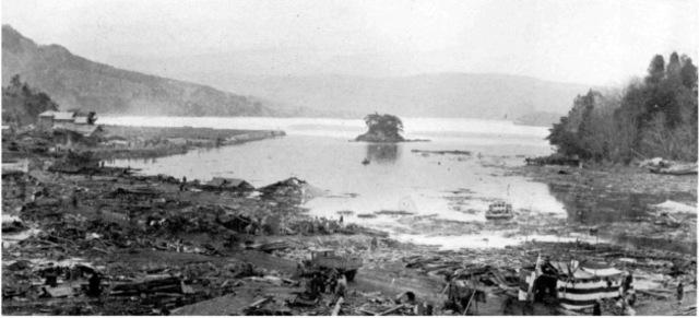 Kamakuru Earthquake and Tsunami