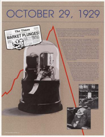 Stock Market Crash; beginning of Great Depression