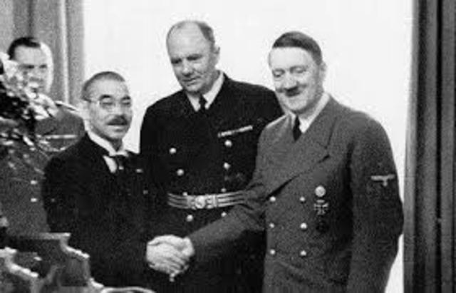 Pacto Antikomitern Alemania-Japón-Italia