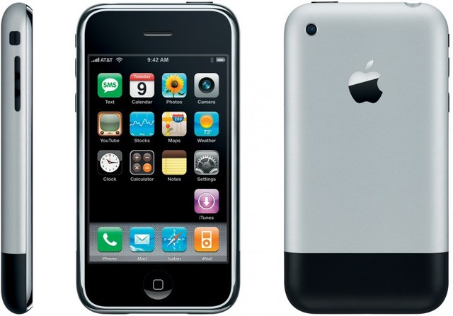 Android y iPhone OS 1.0