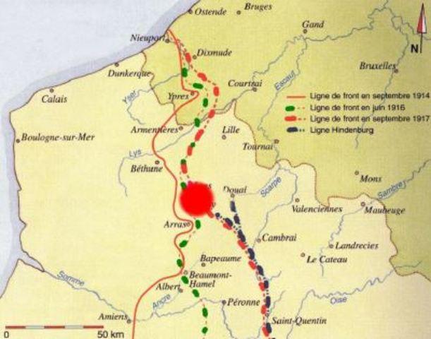 Bataille de la crete de Vimy