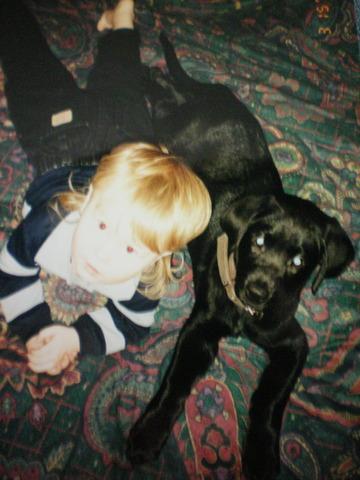 First dog Jake