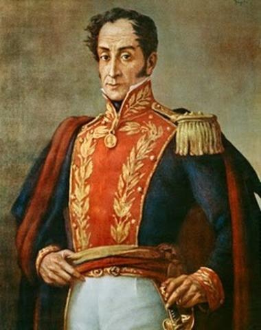 Bolívar es derrotado en Venezuela y huye a la Nueva Granada.