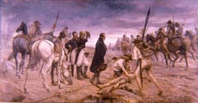 Comienza la resistencia criolla en los Llanos.