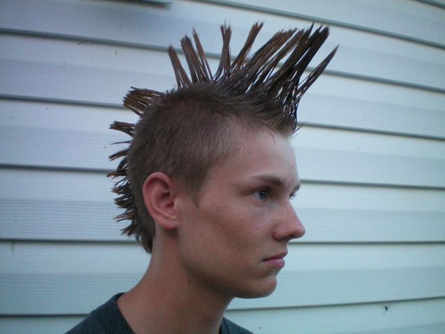 My first mowhawk