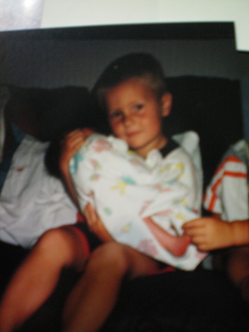 First time meeting little brother Jace