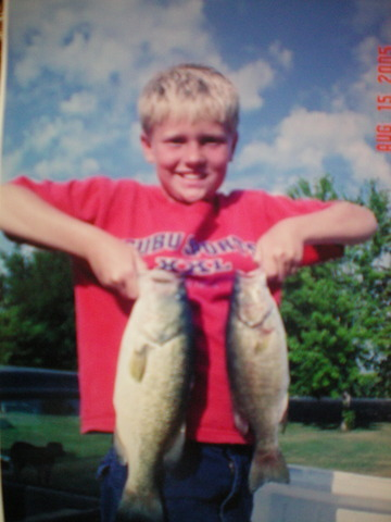 First big fishing trip