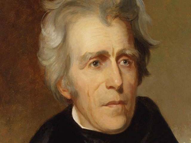 Andrew Jackson is re-elected