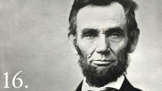 Abraham Lincoln Elected (Republican)