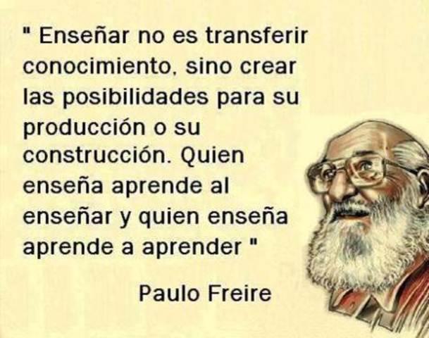 Paulo Freire su pensamiento