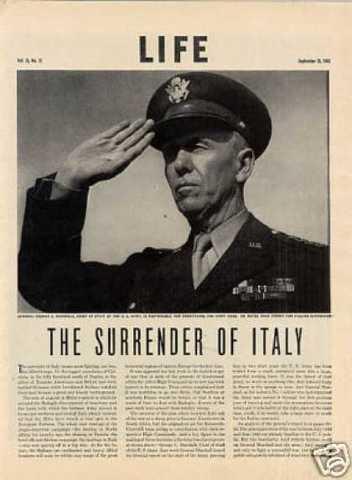 Kapitulation von Italien