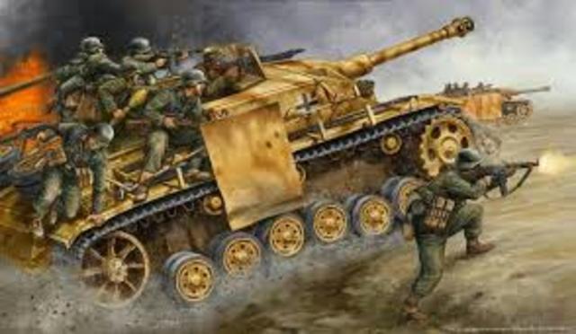 Germany's Blitzkreig (1939-1940)