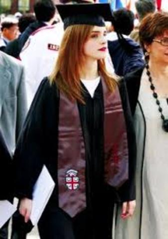 Emma Graduates!