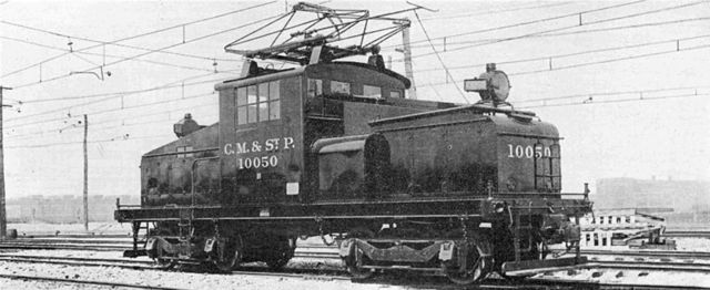 Locomotora eléctrica