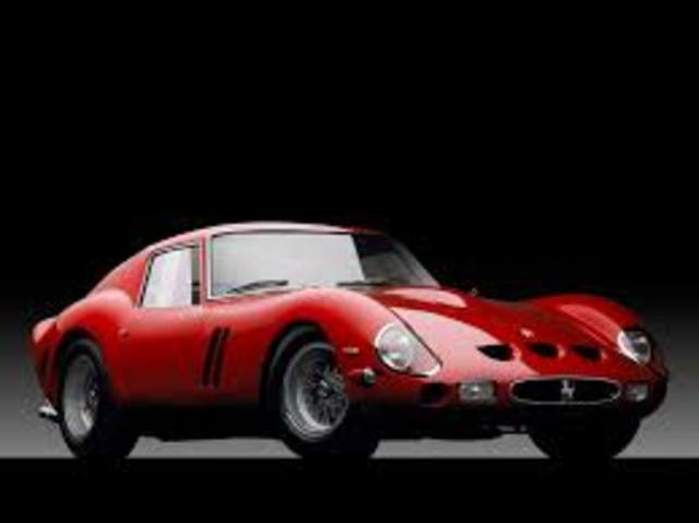 Modelo ferrari 250 GTO