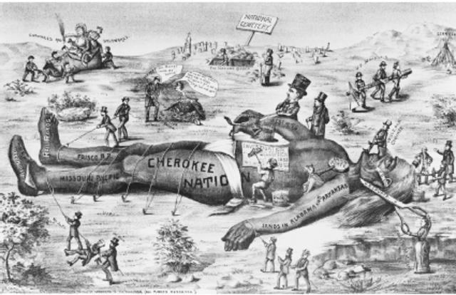 Cherokee Nation vs. State of Georgia