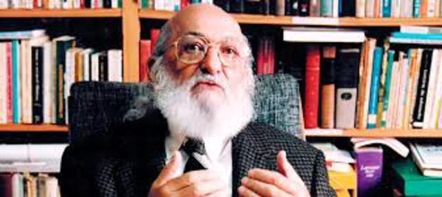 Muerte de Paulo Freire.