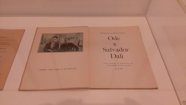¡ Oh, Salvador Dalí , de voz aceitunada!