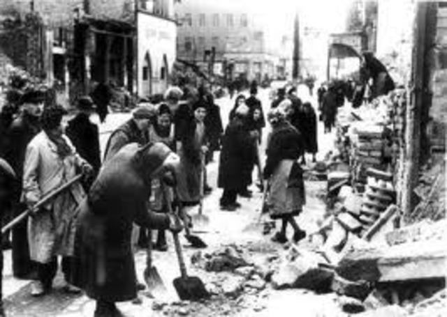Ende des 2. Weltkrieges