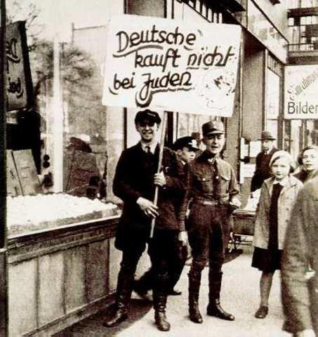 Boykott von jüdischen Geschäften