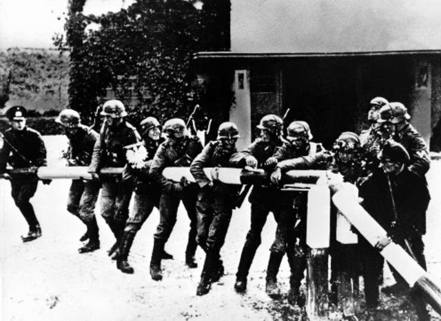 Beginn des 2.Weltkrieges: Einmarsch in Polen