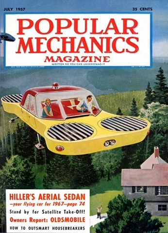 The Wonder of Flying Cars becomes widespread and popular