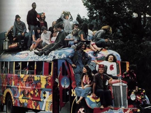 El movimiento hippie