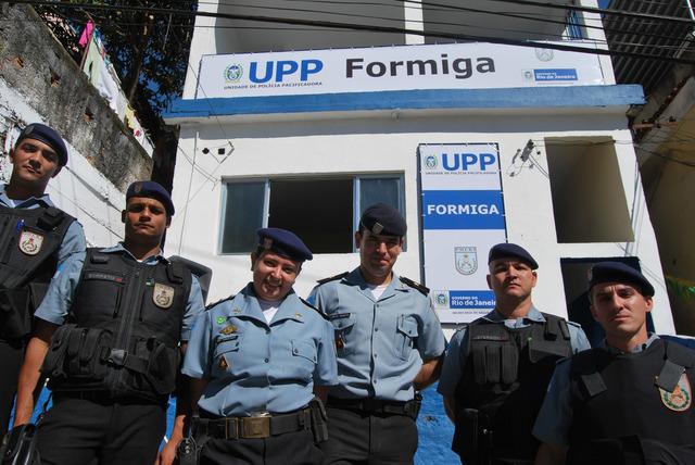 Inauguração da UPP Formiga