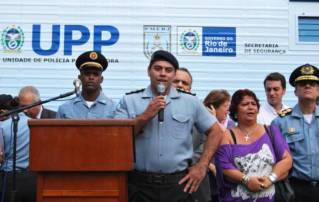 Inauguração da UPP Andaraí