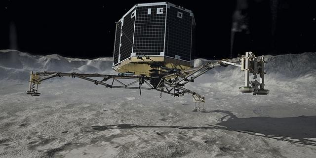 Rosetta Lands on Comet