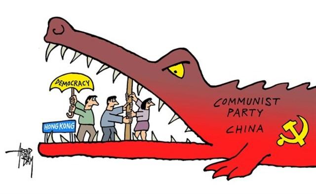 China Political Cartoon