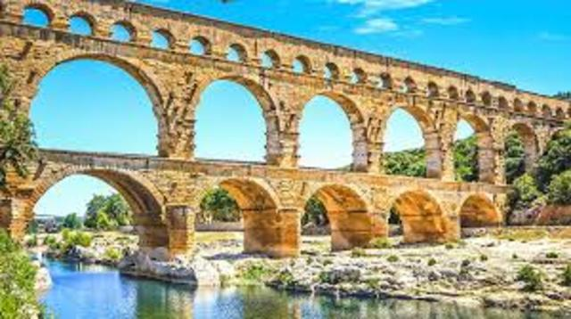ROMANOS Acueducto romano -EDAD ANTIGUA