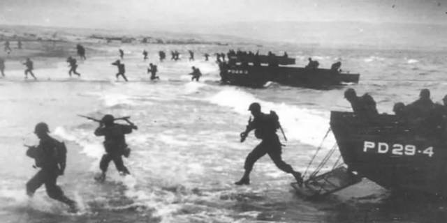 D-Day (Normandy invasion- 1944)