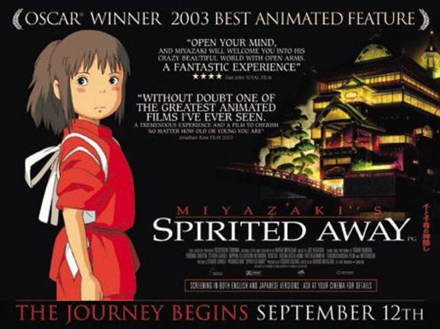 Spirited Away (Studio Ghibli)